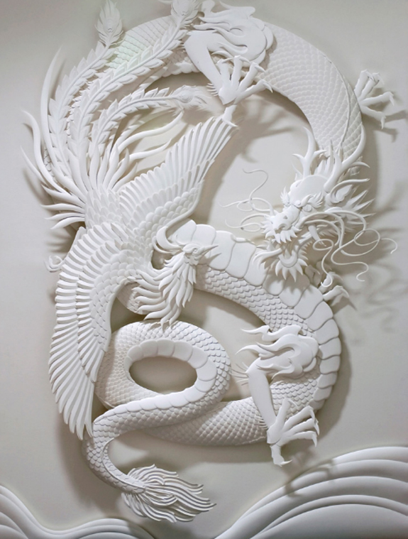 Fine Arts Paper Sculpture