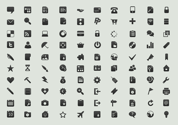 Free Small Symbols Vector Icon Sets 10 45 Free Small Symbols Vector Icon Sets