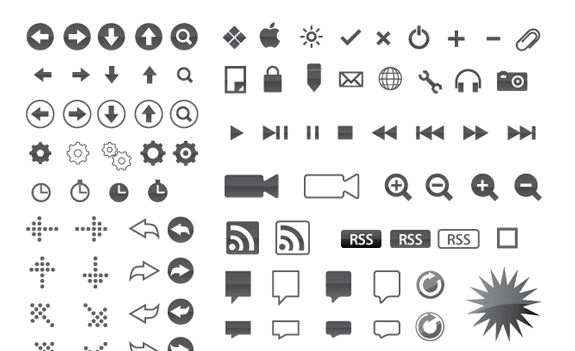 Free Small Symbols Vector Icon Sets 29 45 Free Small Symbols Vector Icon Sets