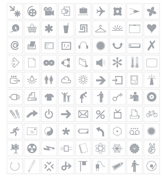 Free Small Symbols Vector Icon Sets 30 45 Free Small Symbols Vector Icon Sets
