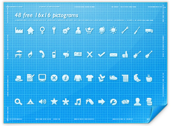 48 Free Pictograms