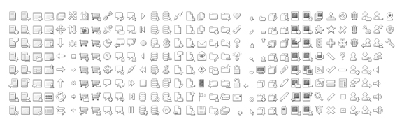 Free Small Symbols Vector Icon Sets 42 45 Free Small Symbols Vector Icon Sets