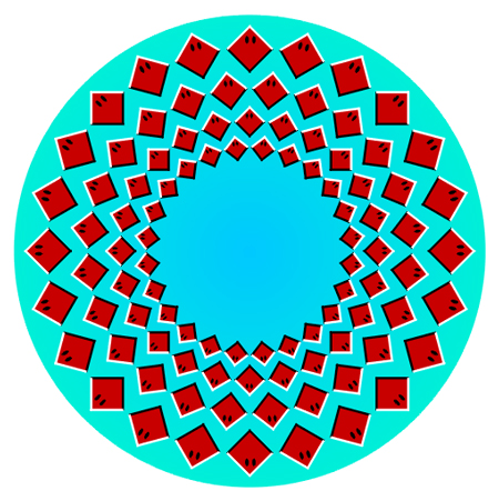 Expanding Circles Illusion