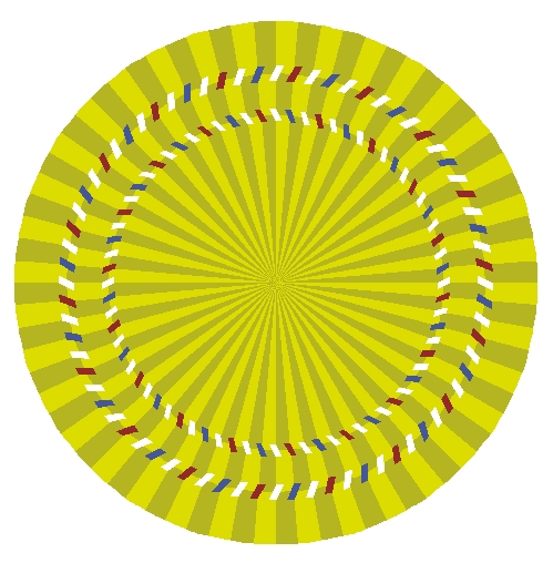 Circle Optical Illusions