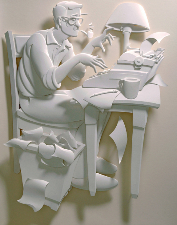Paper Sculpture Advertising