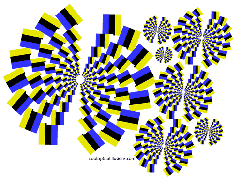 Moving Spiral Illusion