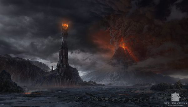 Matte Painting, The Lord of the Ring