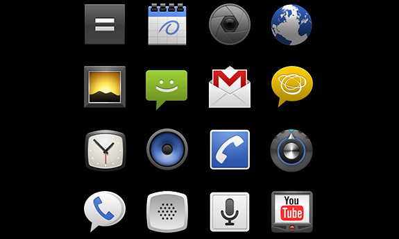 Android Icon Template Pack