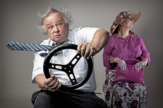 Driving Miss Daisy, Conceptual Photography Ideas