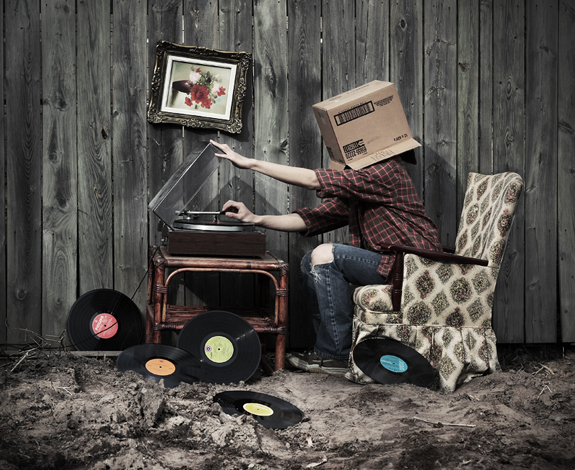 Put Your Records On, Conceptual Photography Ideas