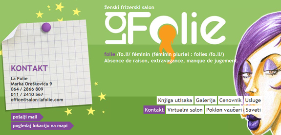 Salon La Folie