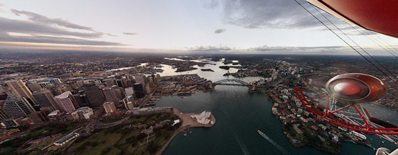 Sydney in Panoramic View