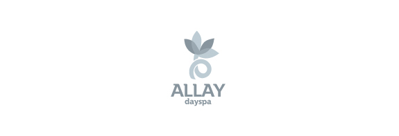 Flower Logo Design Ideas, Allay dayspa