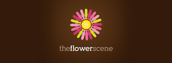 The Flower Logo Design