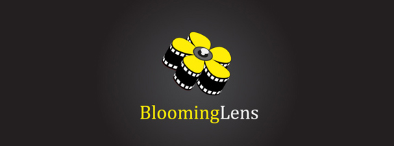 Blooming Lens Logo Design