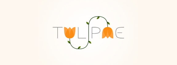 Tulipae, Flower Logo Design