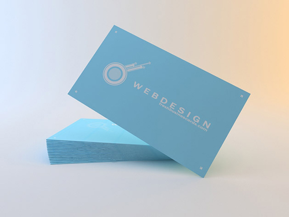 Clean Business Cards