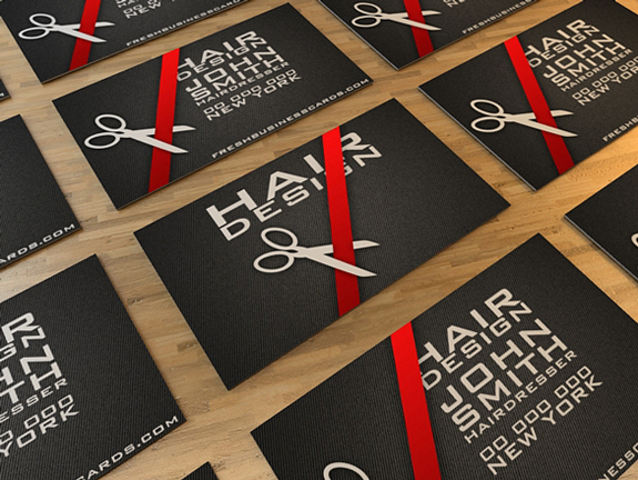 Business Card for Hairdresser