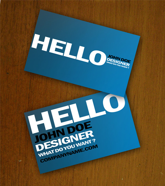 Free Business Card Templates 05 59 Useful Business Card Templates