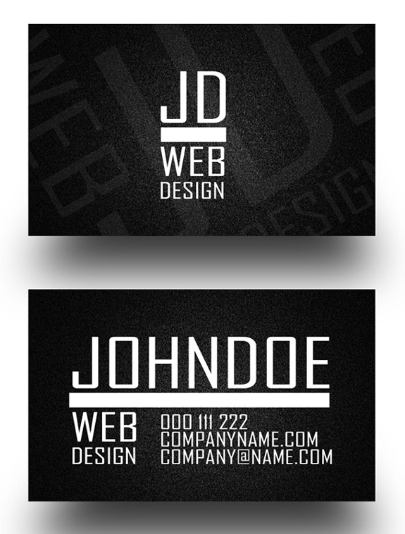 Noise II Business Card
