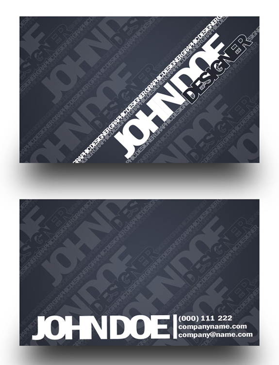 Free Business Card Templates 18 59 Useful Business Card Templates