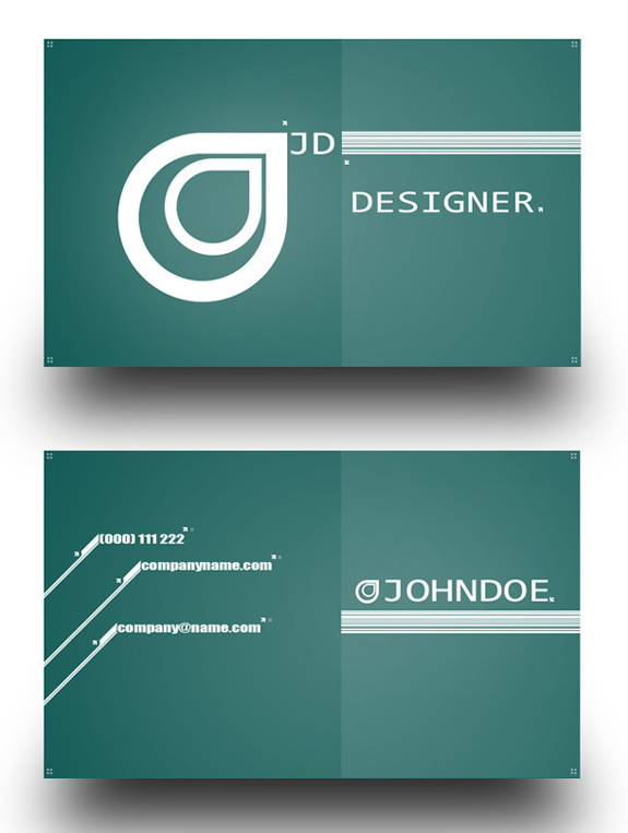 Free Business Card Templates 20 59 Useful Business Card Templates