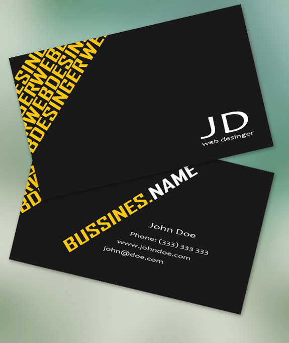 Free Business Card Templates 21 59 Useful Business Card Templates