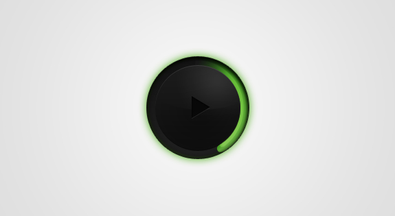 Circular Music Player PSD