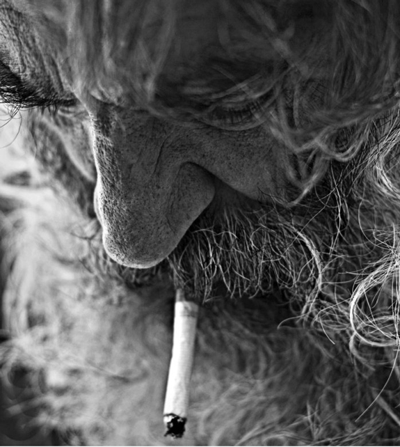 Old Man Portrait Photograph