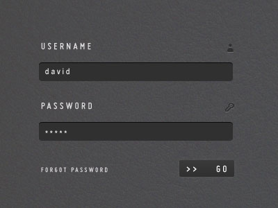 Useful Login Page Template 05 20 Useful Login Page Template   Free PSD Files