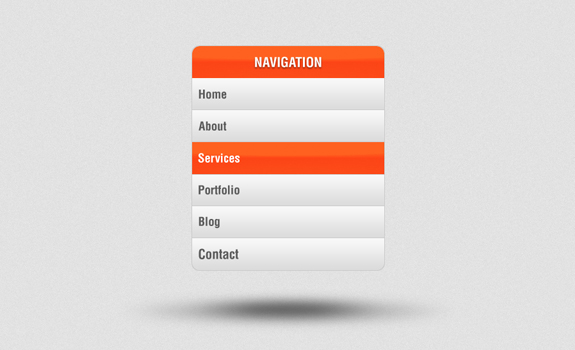 36 best menu designs template the design work for Html side menu bar template