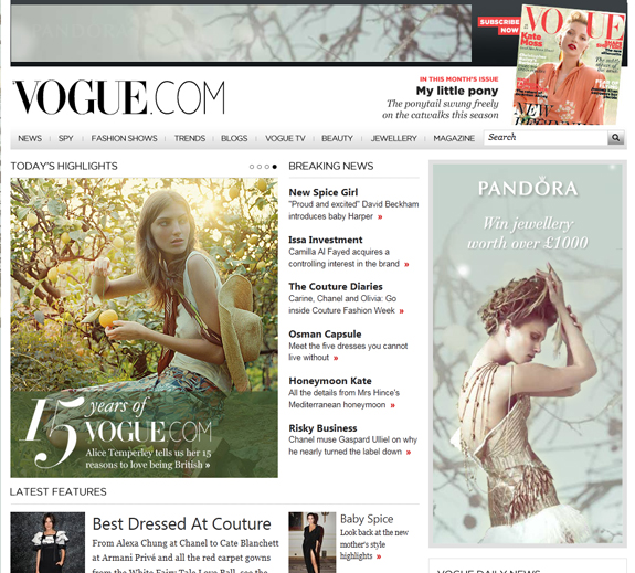 Best Online Magazine Layout Examples