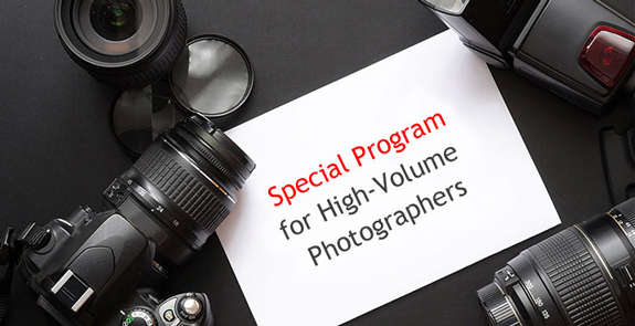 Special Program for Authors with Large Portfolios