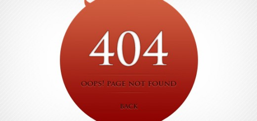 404 Page Template