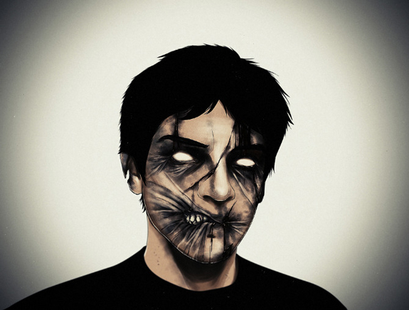 Cool Illustrations of Zombie Portraits