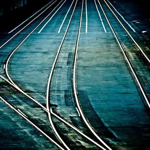 Abstract Railway Background