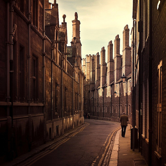 Cambridge / Vintage / Buildings