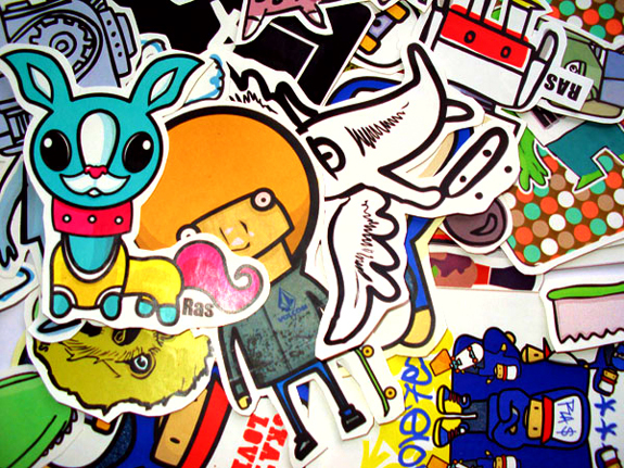 Cool Stickers Design Inspiration | The Design Work