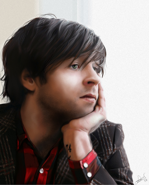 Ryan Adams Digital Painting