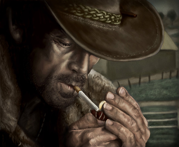 Marlboro Man-Digital Painting