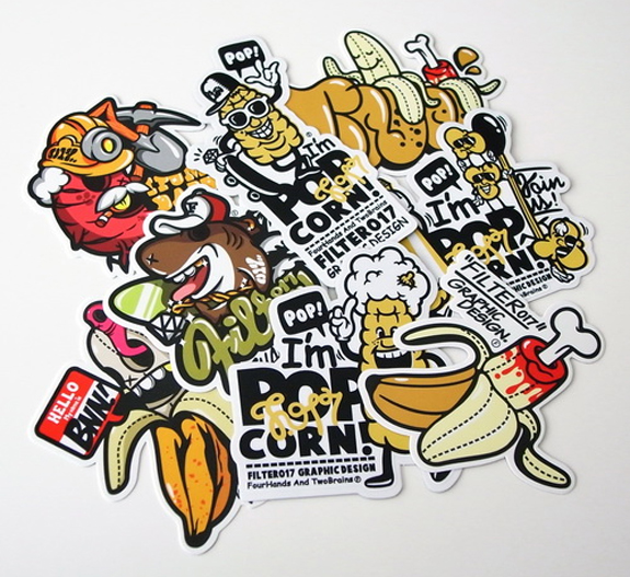 Cool Stickers Design Inspiration 13 Cool Stickers Design Inspiration