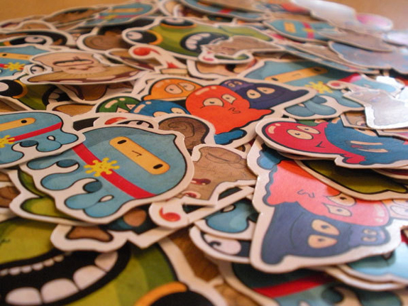 Cool Stickers Design Inspiration