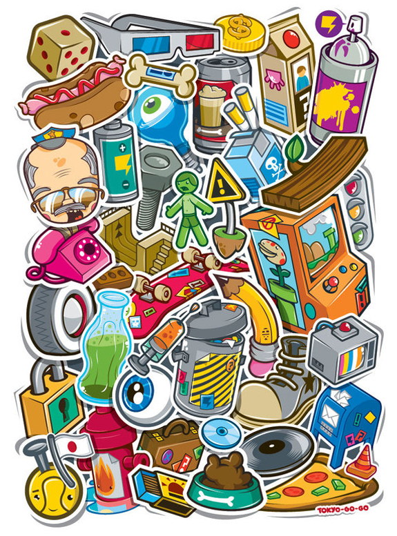 Cool Stickers Design Inspiration 17 Cool Stickers Design Inspiration
