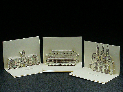 3D Popup Postcards