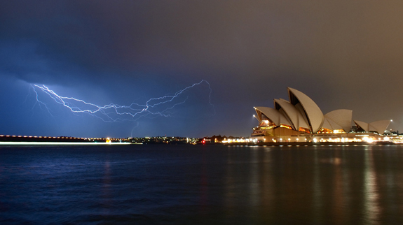Lightning - Urban Photo