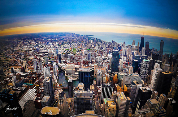 A View From The Sears Tower