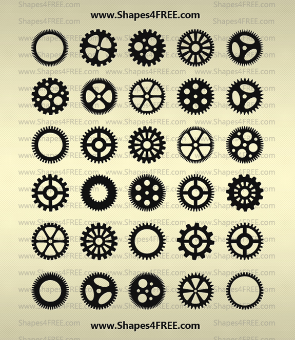 Gears Shapes