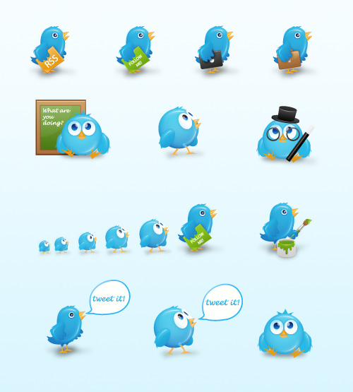 Cute Free Twitter Icons