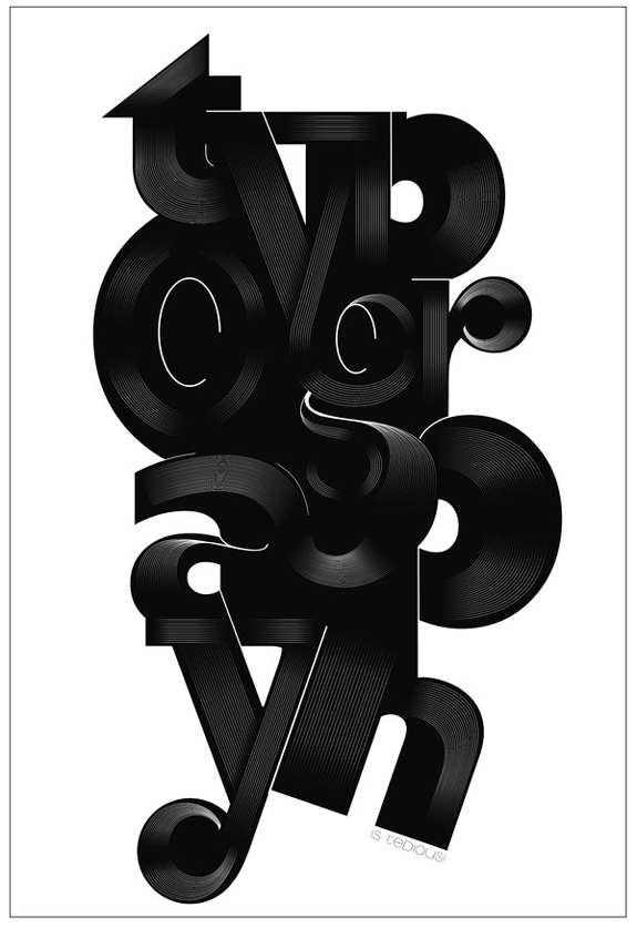 Typographic Poster Design Inspiration 06 30 Typographic Poster Design Inspiration