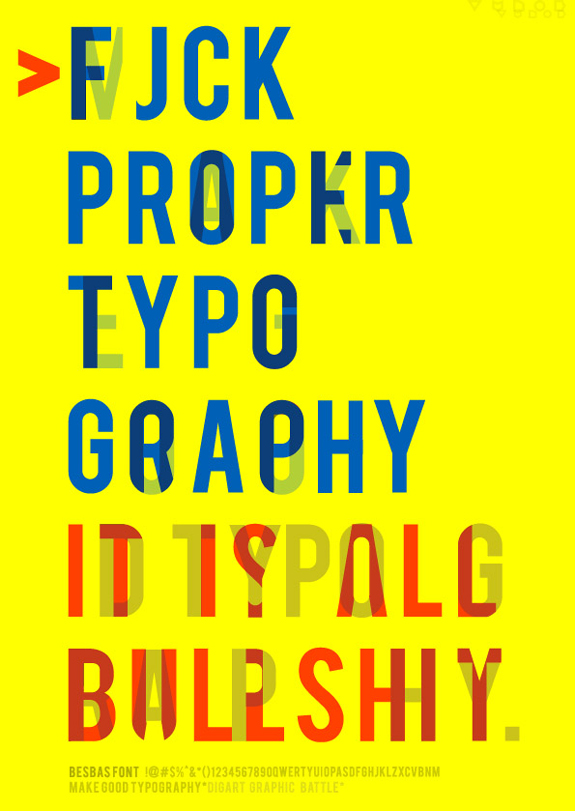 Typographic Poster Design Inspiration 08 30 Typographic Poster Design Inspiration